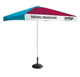 Parasol gastronomiczny kwadratowy