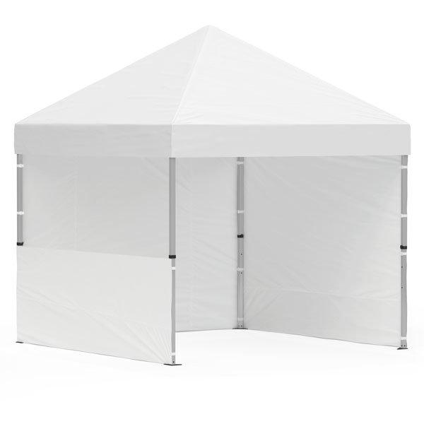 namiot reklamowy 3x3m bez nadruku bialy