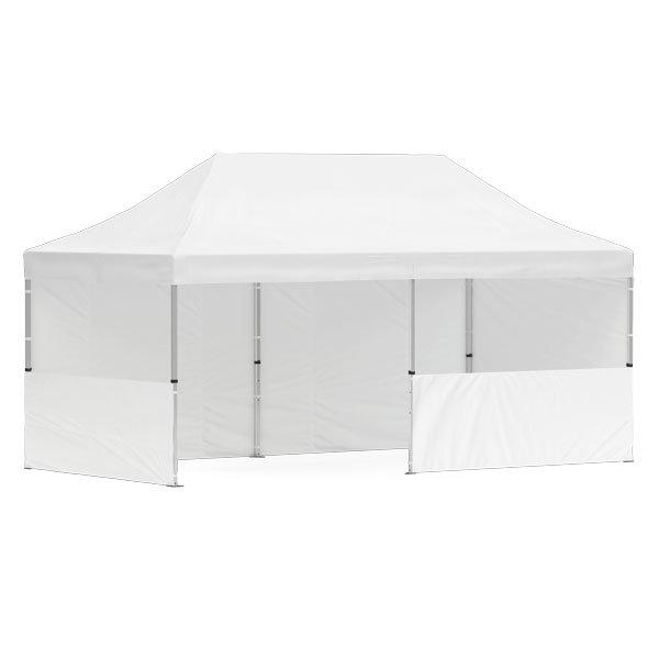 namiot reklamowy 3x6m bez nadruku bialy