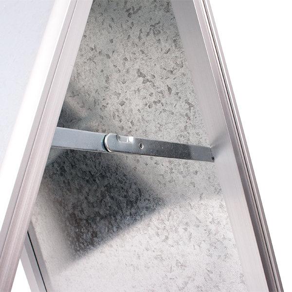 Potykacz aluminiowy OWZ - zawias
