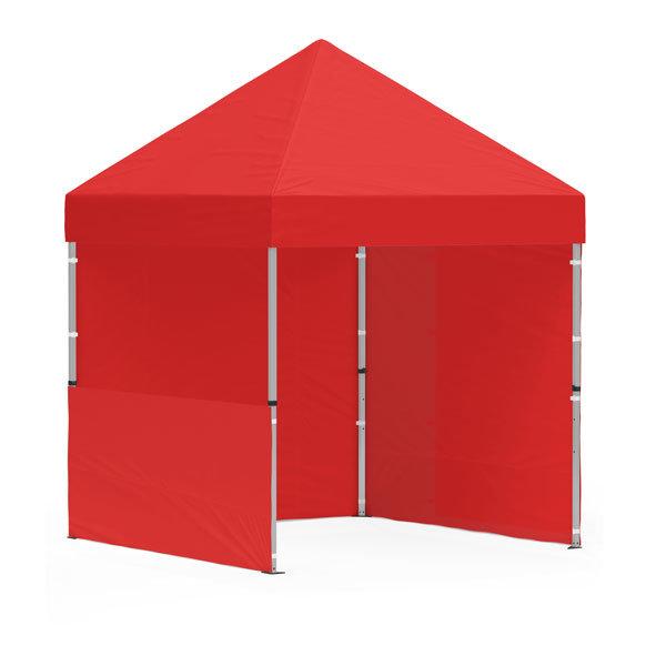 namiot reklamowy 2x2m bez nadruku czerwony
