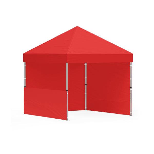 namiot reklamowy 3x3m bez nadruku czerwony