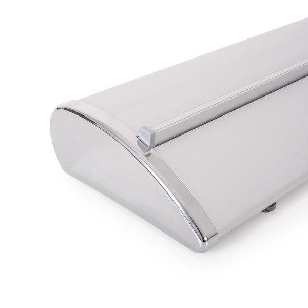 Rollup exclusive - chromowany bok kasety