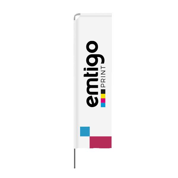 flaga reklamowa winder prostokatna