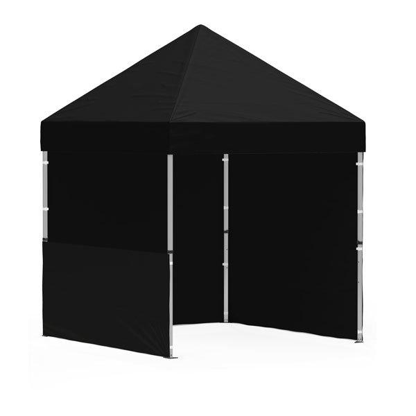 namiot reklamowy 2x2m bez nadruku czarny