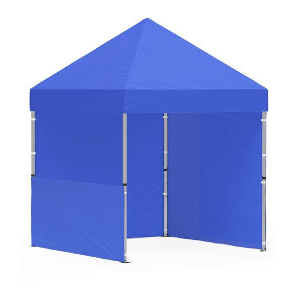 namiot reklamowy 2x2m bez nadruku niebieski