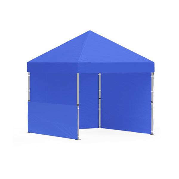 namiot reklamowy 3x3m bez nadruku niebieski