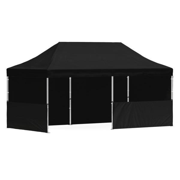 namiot reklamowy 3x6m bez nadruku czarny