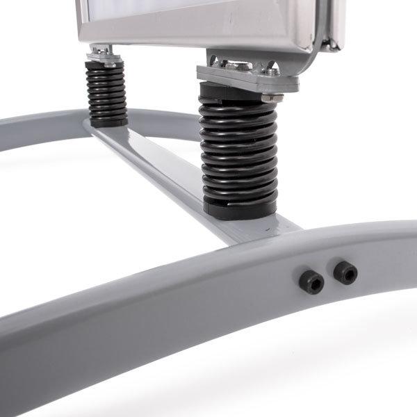 Potykacz zewnętrzny stojak - mocowanie