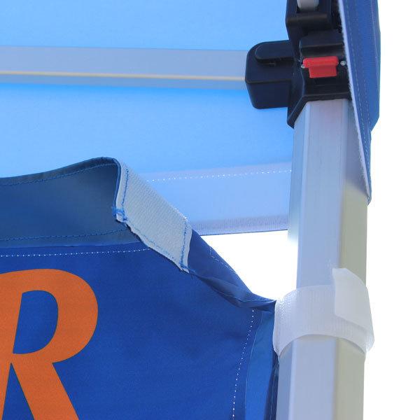 namiot-reklamowy2x2-z-nadrukiem mocowanie grafiki