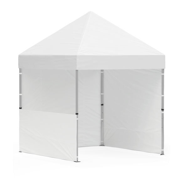 namiot reklamowy 2x2m bez nadruku bialy