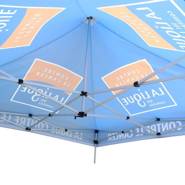 namiot-reklamowy2x2-z-nadrukiem konstrukcja