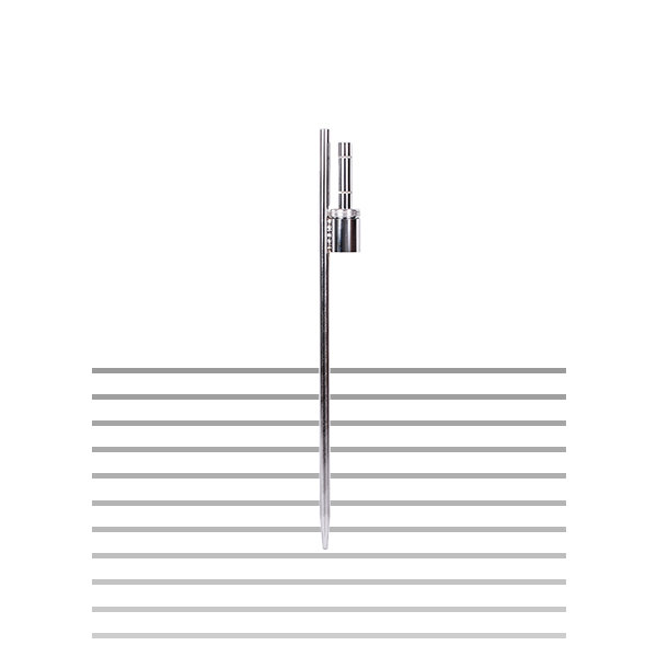 Postawa szpica do flagi reklamowej typu winder