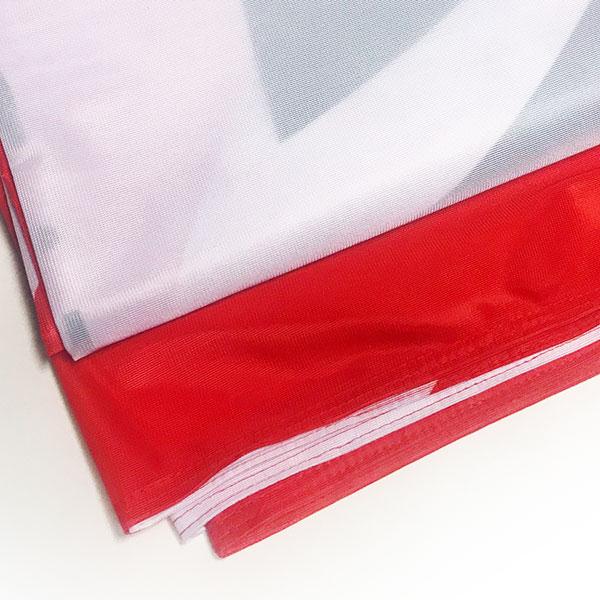 flaga reklamowa materiał poliester 115g
