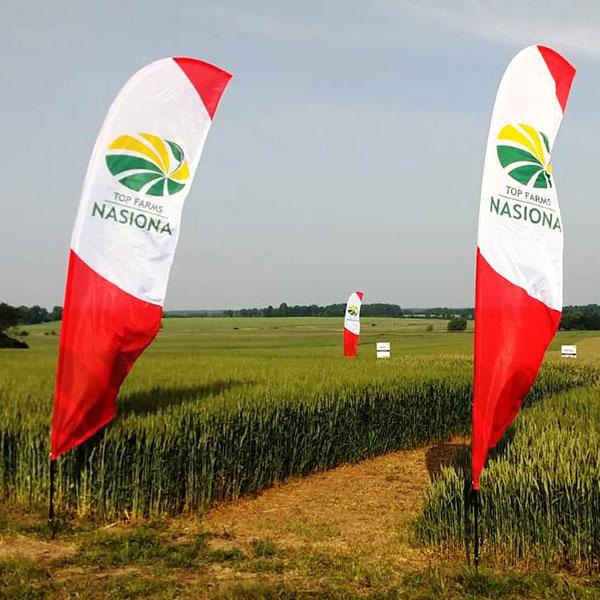 Realizacje winder reklamowy skrzydlo Top Farms